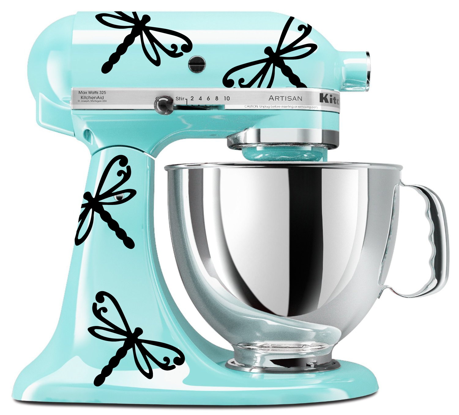KitchenAid Darling Dragonfly Vinyl Decals- Set of 9 on Storenvy