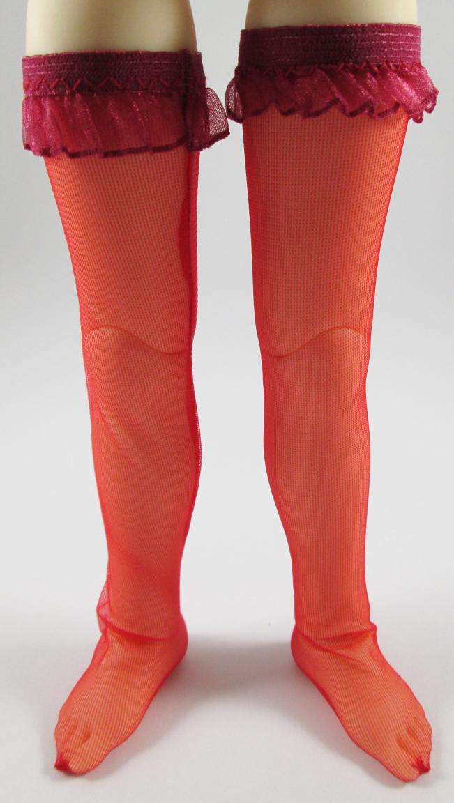 c64d00c15 MSD Red Sheer Stockings on Storenvy