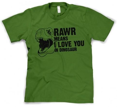 Rawr Means I Love You in Dinosaur on Storenvy
