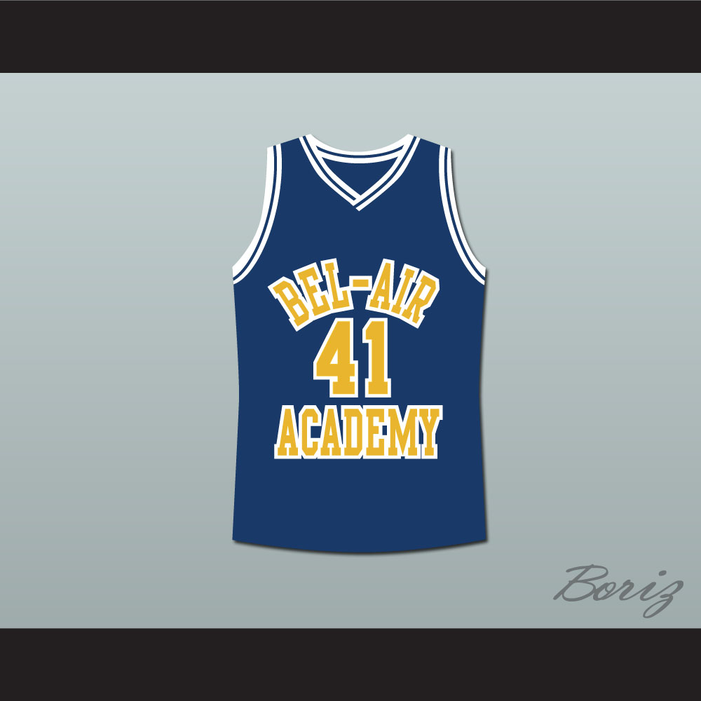 sports shoes 48e20 19faf The Fresh Prince of Bel-Air Will Smith Bel-Air Academy Basketball Jersey  from acbestseller