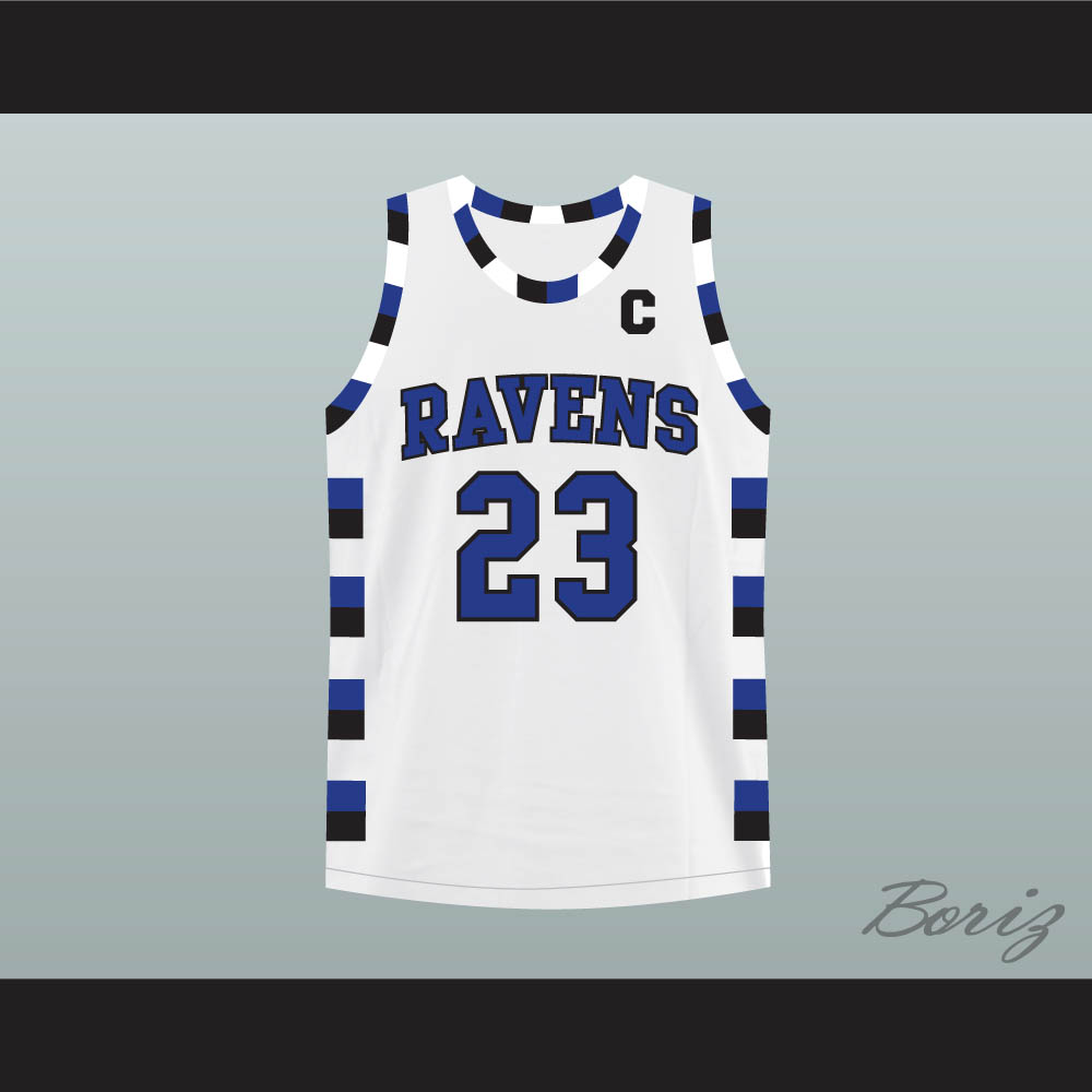 da13b0cb8 Nathan Scott 23 One Tree Hill Ravens White Basketball Jersey Any Player