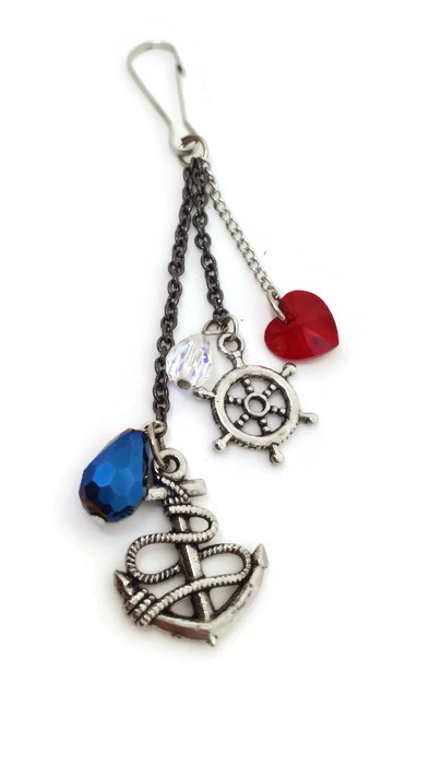 Nautical Clipon Charm