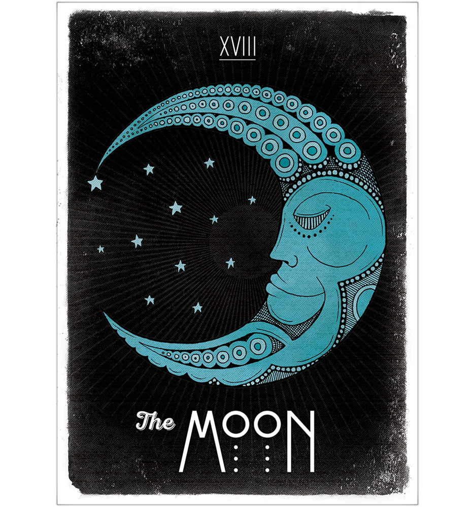 Image result for moon tarot
