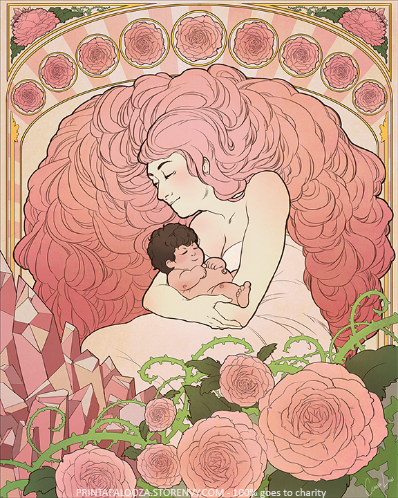 Rose Quartz Stevenuniverse