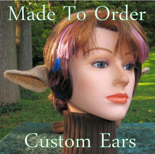 Custom Faun Ears Satyr or Elf Costume Crocheted Headband - Made to Order  sc 1 st  ELFLING CREATIONS - Storenvy & Custom Faun Ears Satyr or Elf Costume Crocheted Headband - Made to ...