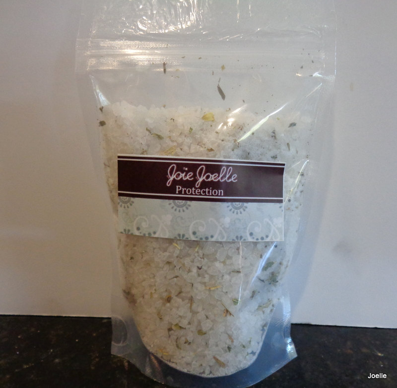 Protection Bath Salts for banishing exocrism, remove hex curses, spiritual  armor, psychic awareness, cleansing puirification from Joie Joelle