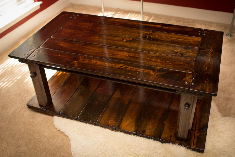Industrial Rustic Coffee Table Industrial Furniture Industrial