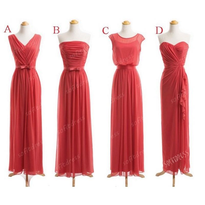 44122872acc coral bridesmaid dresses