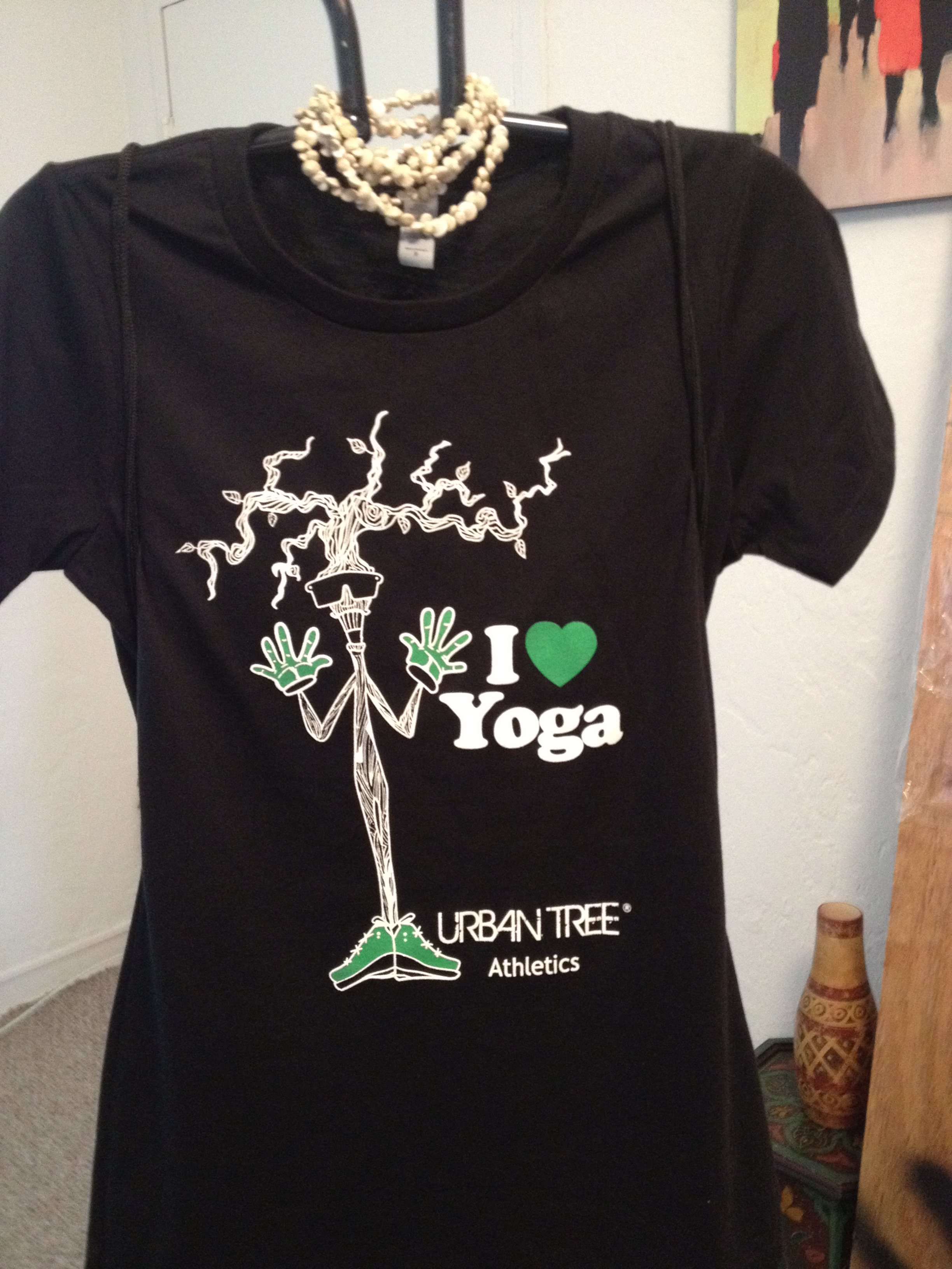 Urban Tree Outfitters I Love Yoga T Shirt Sold By Urbntre Com On Storenvy