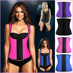 7a8646d51a 2015 plus size latex corset women latex sexy underust bustier waist cincher  training corsets ann chery