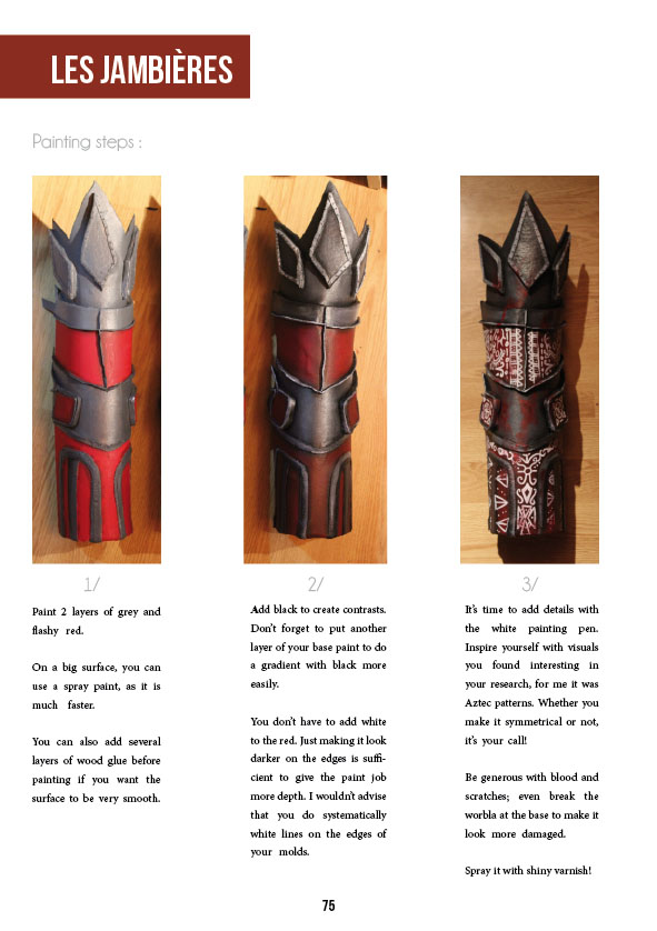 E-Book PDF Tutorial Cosplay - Witch Doctor ENGLISH VERSION by Hiluvia  Cosplay