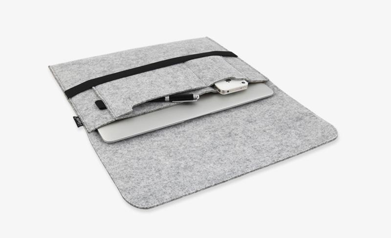 the best attitude 90942 e2d47 2019 Cheap Macbook 12 Inch Felt Sleeve Cover Case Bag For Girls MB1205