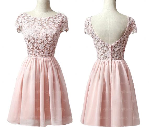 077b69605a Pink homecoming dresses