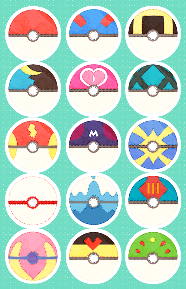 Pokeballs compil original