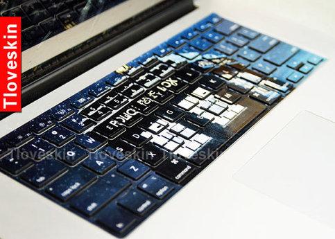 Doctor Who Macbook Keyboard Decal Macbook Pro Keyboard