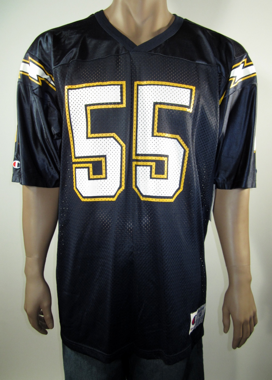 e91c14d2 Junior Seau San Diego Chargers NFL Champion Jersey 48 NWT on Storenvy