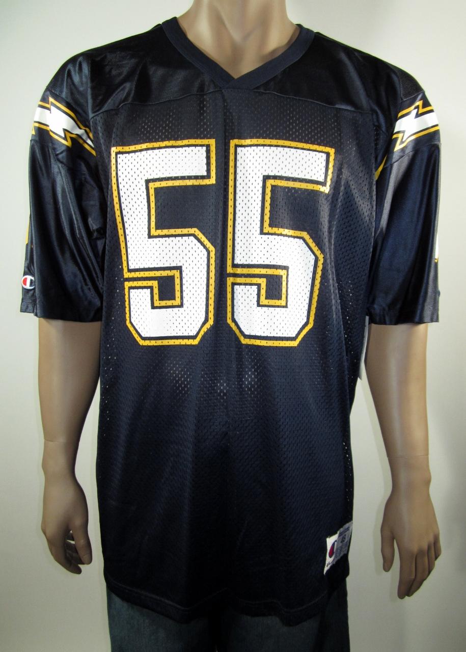1870c28bcca Junior Seau San Diego Chargers NFL Champion Jersey 48 NWT · DFRNSH8 ...