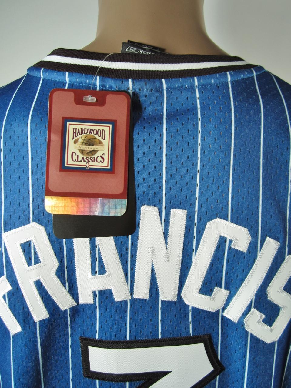 ... Steve Francis Orlando Magic Authentic Hardwood Classics Reebok Jersey 48  XL NWT Rare - Thumbnail 2 ... 0ec6e2b42