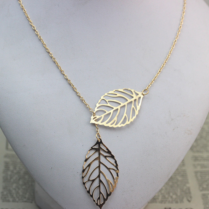 00fdd2466f5eb Gold Necklace Leaf , Birthday Gift, Bridesmaid Gift, Mother of the Bride,  Mother of the Groom