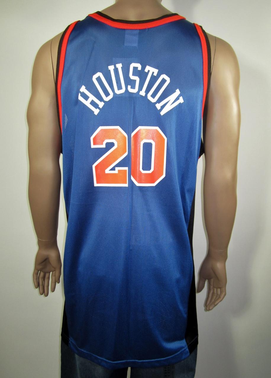 new concept fe181 e20e8 Allan Houston New York Knicks Champion Jersey 52 NWT sold by DFRNSH8