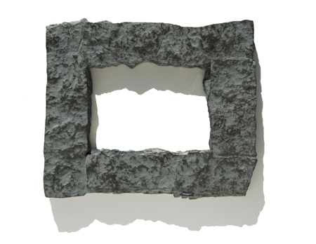 4x6 Gray rock picture frame on Storenvy