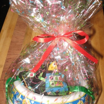 I Love My Cat Kitty Cat Gift Basket With Homemade Treats And A