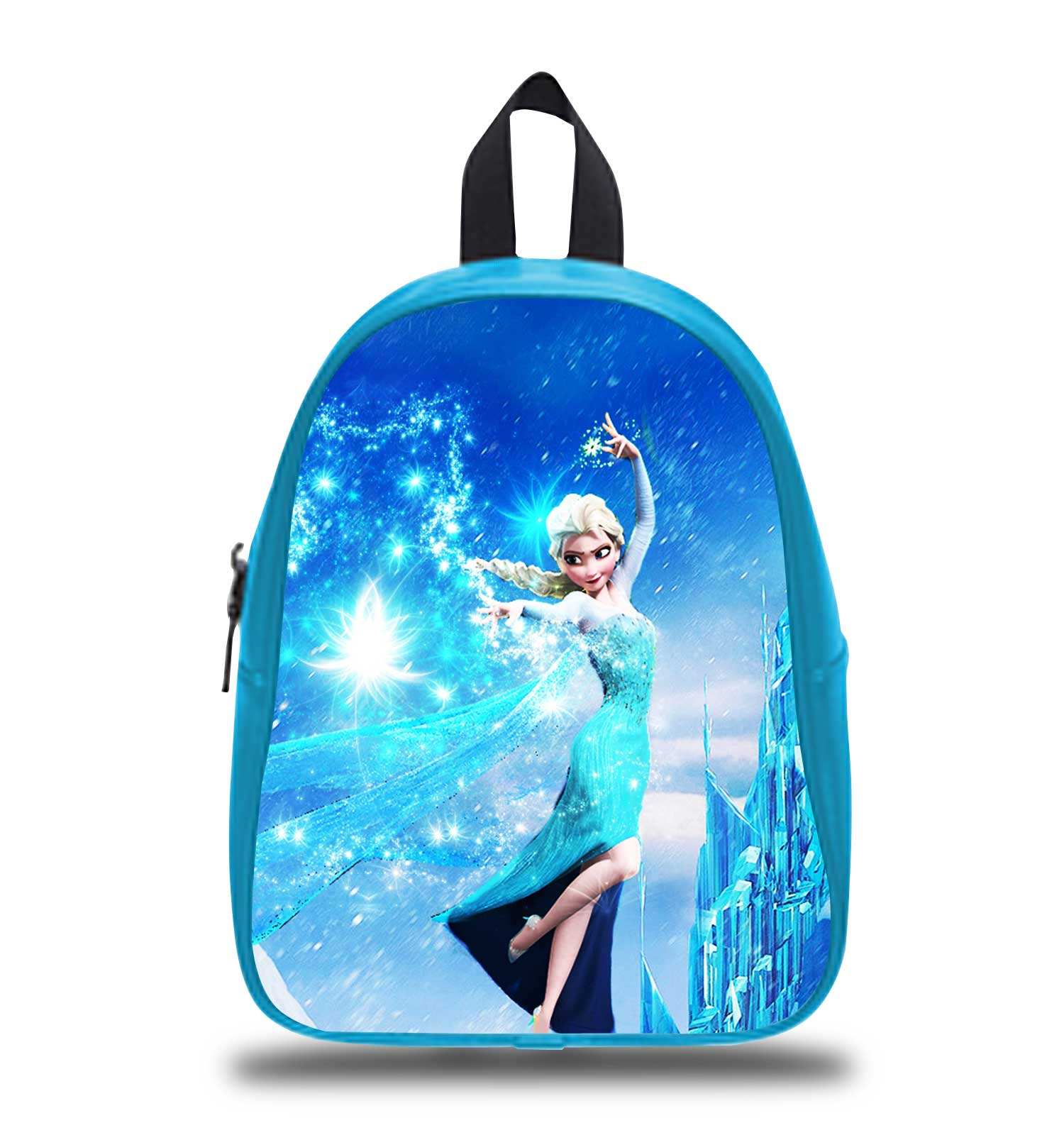 ec54da351a5 Frozen Elsa on Snow Disney Princess Schoolbag Backpack S M L Kids School Bag