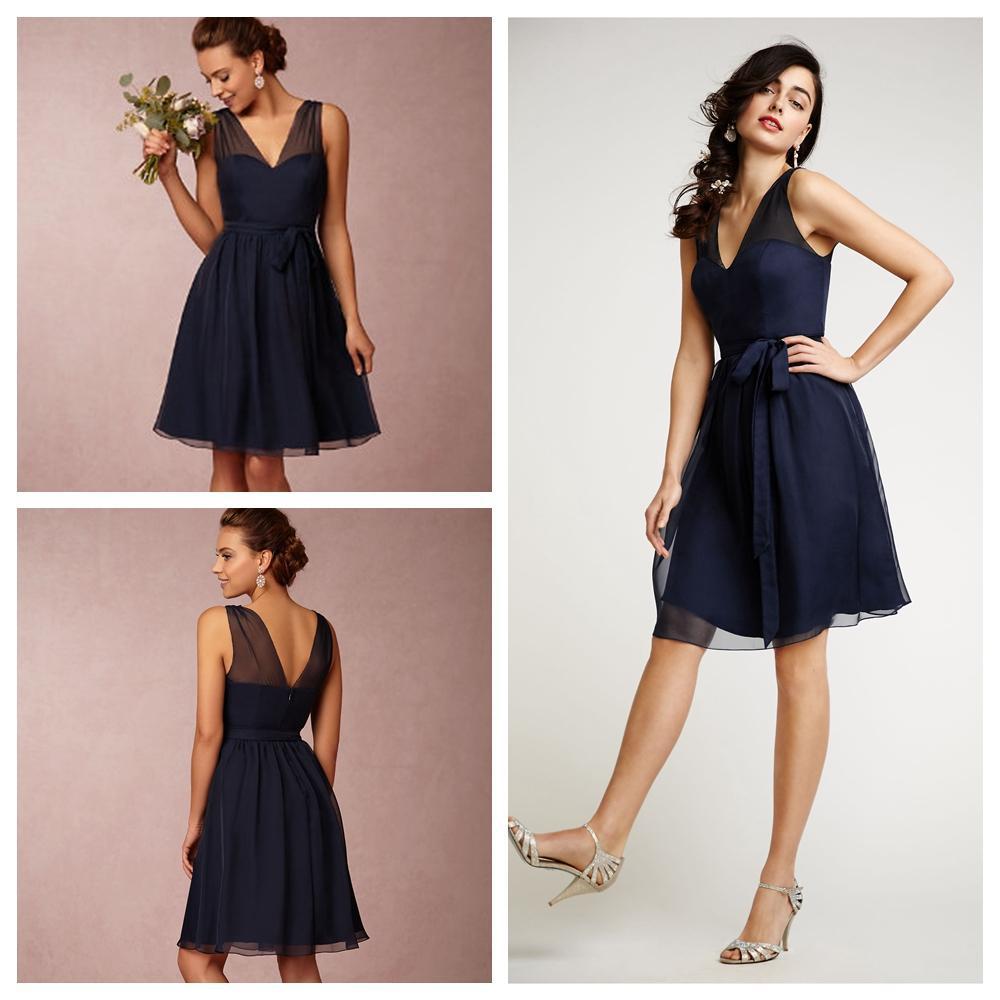 Navy bridesmaid dresses off shoulder bridesmaid dresses short short font b bridesmaid b font font b ombrellifo Images