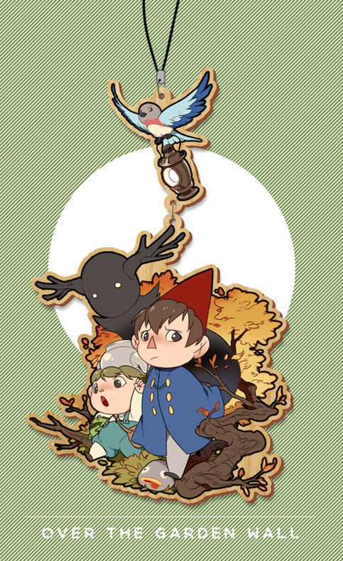 Over the garden wall wood charm on storenvy - Over the garden wall soundtrack vinyl ...
