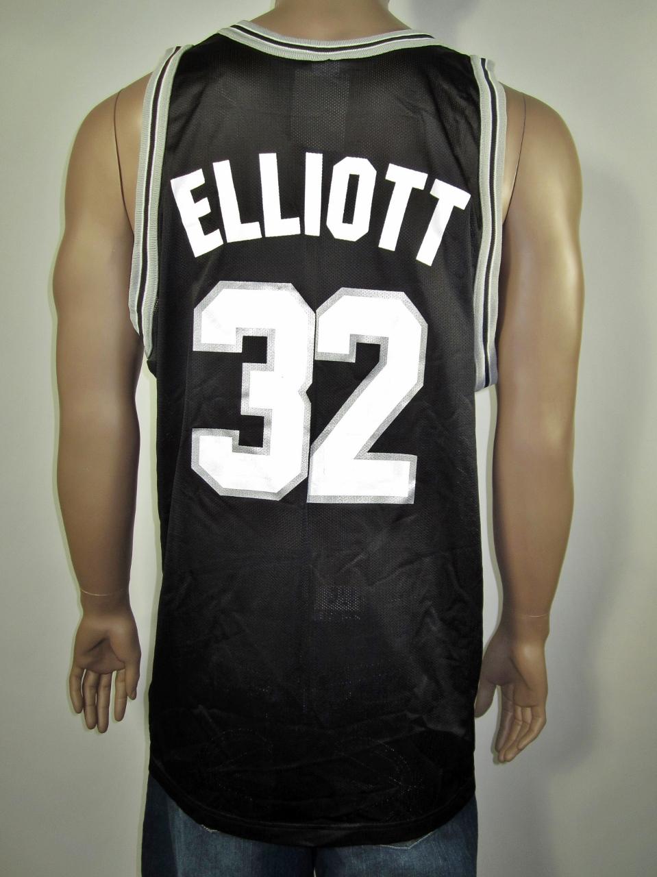 Sean Elliott San Antonio Spurs Champion Jersey 48 NWT on Storenvy bce6aa072