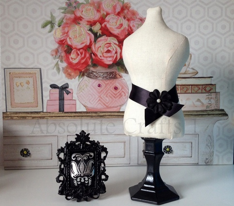 Necklace Stand Mini Mannequin Dress Form Vanity