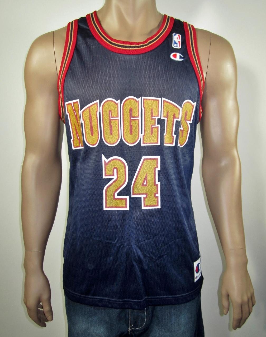 size 40 4f661 7a8ee Antonio McDyess Denver Nuggets Champion Jersey 40 NWT from DFRNSH8