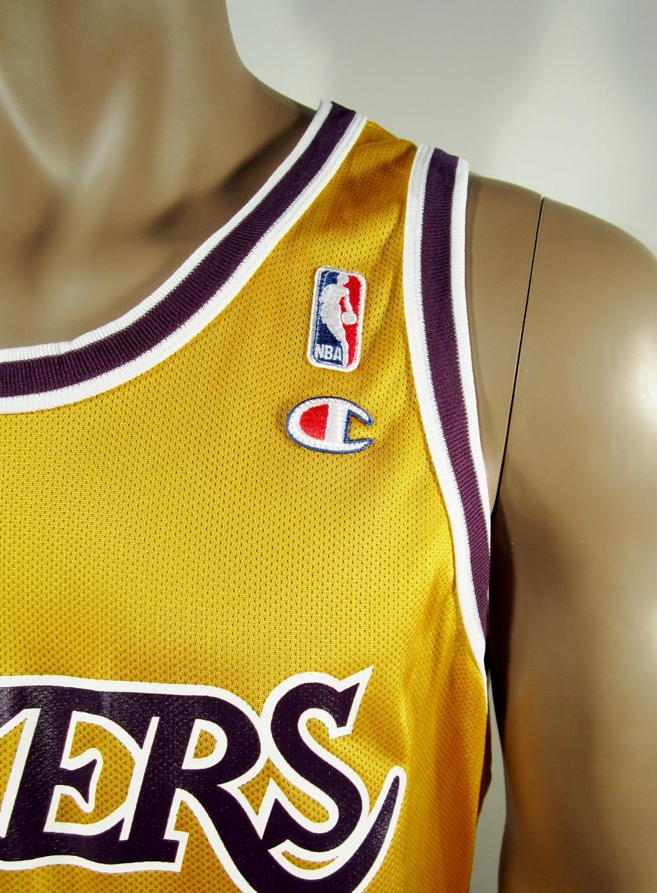 816df0cf50e ... Magic Johnson Los Angeles Lakers Champion Jersey 48 NWT - Thumbnail 3  ...