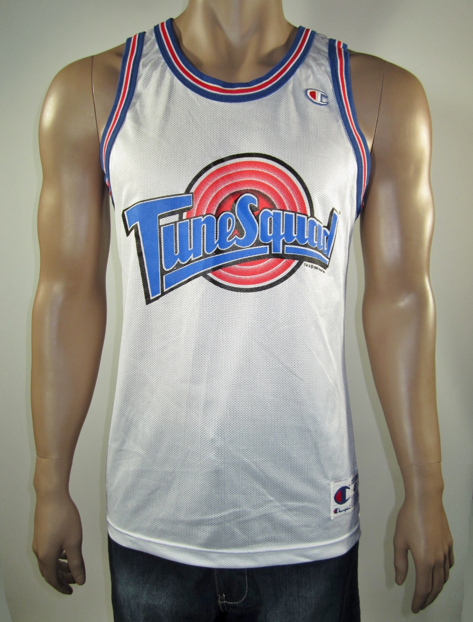 sports shoes bce2e a069d Michael Jordan Space Jam Tune Squad Champion Jersey 40 NWT Original from  DFRNSH8