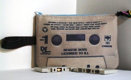a8b3c423 Beastie Boys Licensed to Ill Large Wristlet Cassette Tape Purse ...