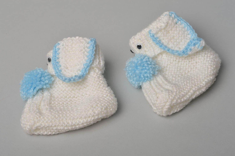 Handmade Booties Warm Booties Baby Booties Crocheted Booties Gift Ideas