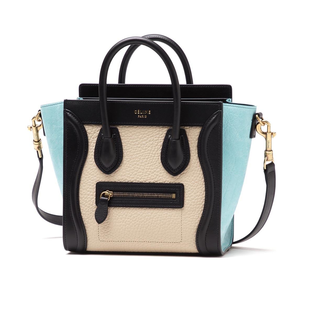 200240682338 100% Authentic Celine Luggage Nano Multicolor · KaloniesKloset ...