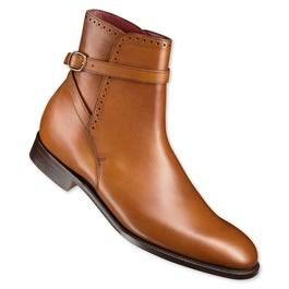 2aa8a71073f5 Handmade mens fashion jodhpur ankle boots