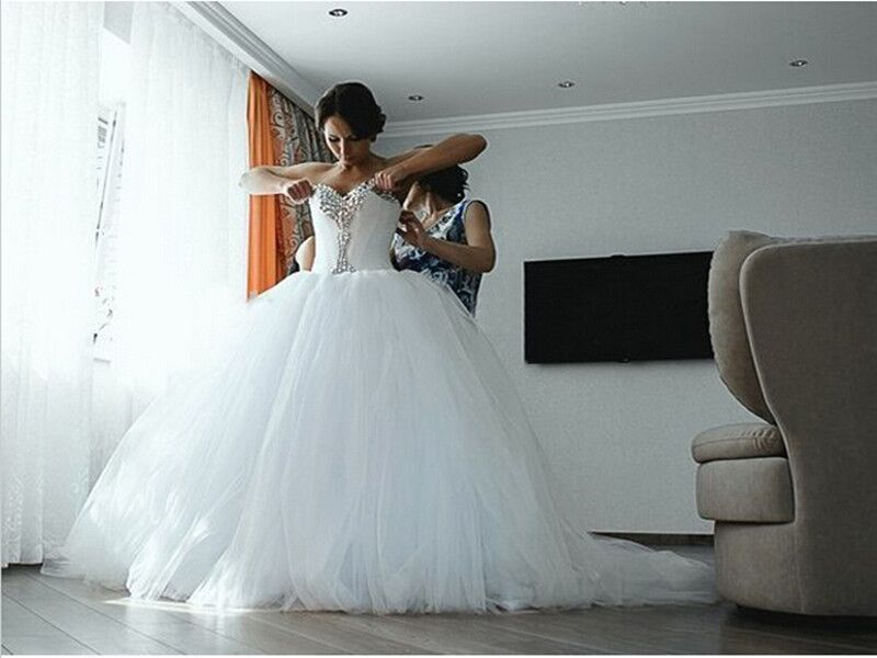 Wedding Dresses Ball Gown Sweetheart: Sweetheart Ball Gown Wedding Dresses,Back Up Lace Wedding