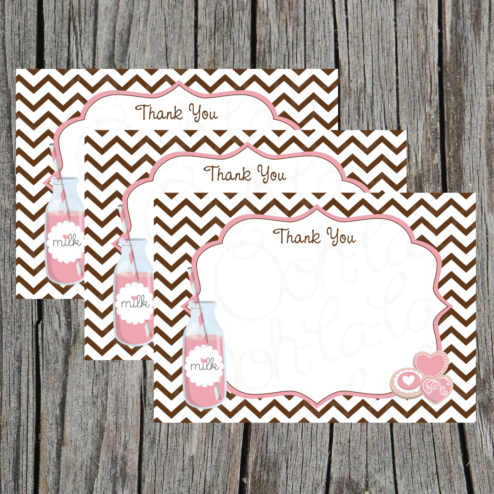 graphic about Printable Notecard named Lady Milk and Cookies Electronic Printable Notecard towards Ooh La La Printables