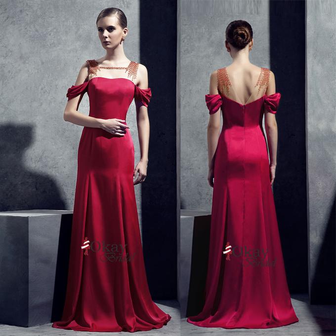9d9973aba18cc Elegant Bridesmaid Dress,Long Bridesmaid Dress,Cheap Bridesmaid Dress,Straps  Prom Dress,