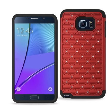 sale retailer b506d 423a0 Samsung Galaxy Note 5 Diamond Hard Shell With Rubber from All Talk  Accessories