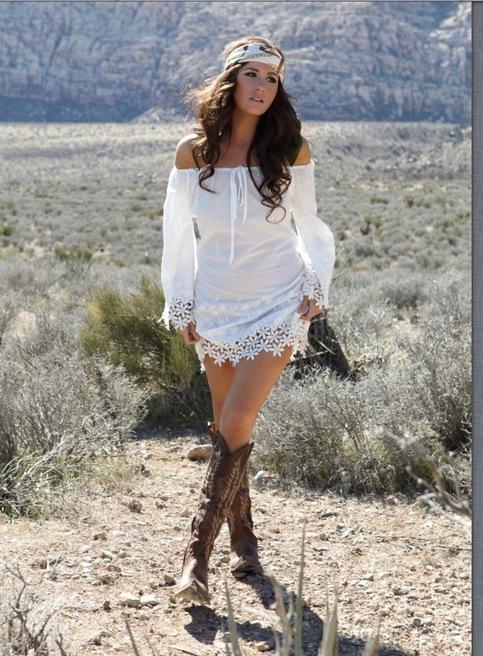 Tarra White Dress On Storenvy