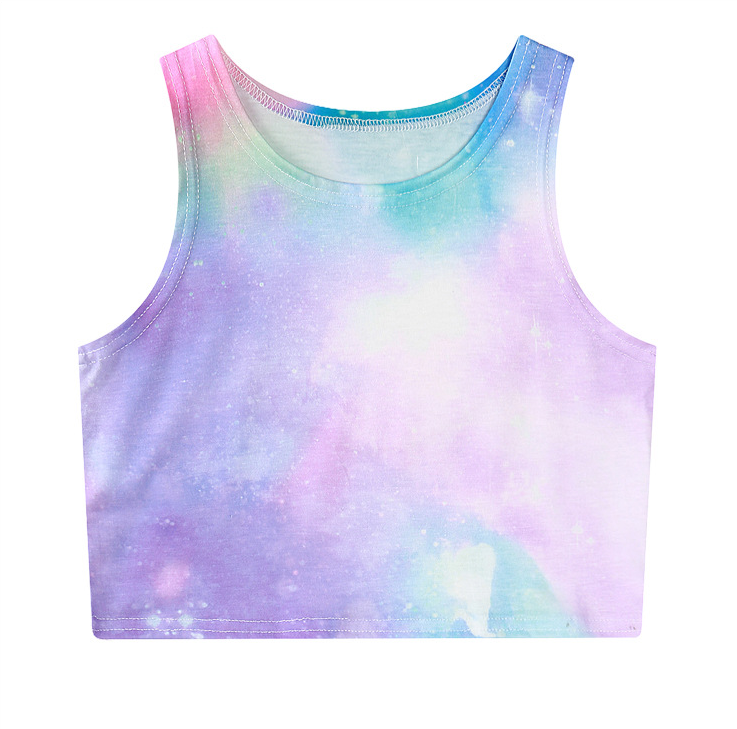 192ef4453b4 Pastel Galaxy Crop Top · Sandysshop · Online Store Powered by Storenvy