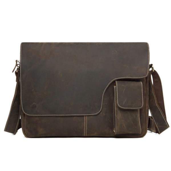 1c0f413da67d 13   Vintage Genuine Leather Messenger Bag Crossbody Bag Shoulder ...