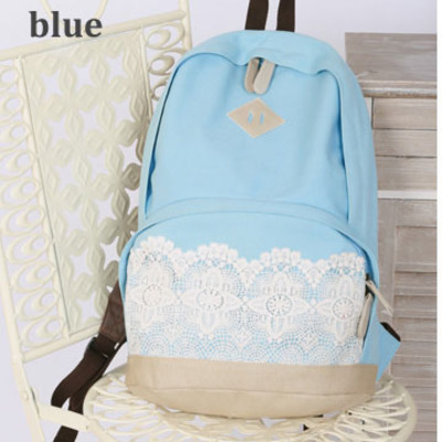 a4fa092f46c Fashion Cute Lace Canvas Backpack from needit