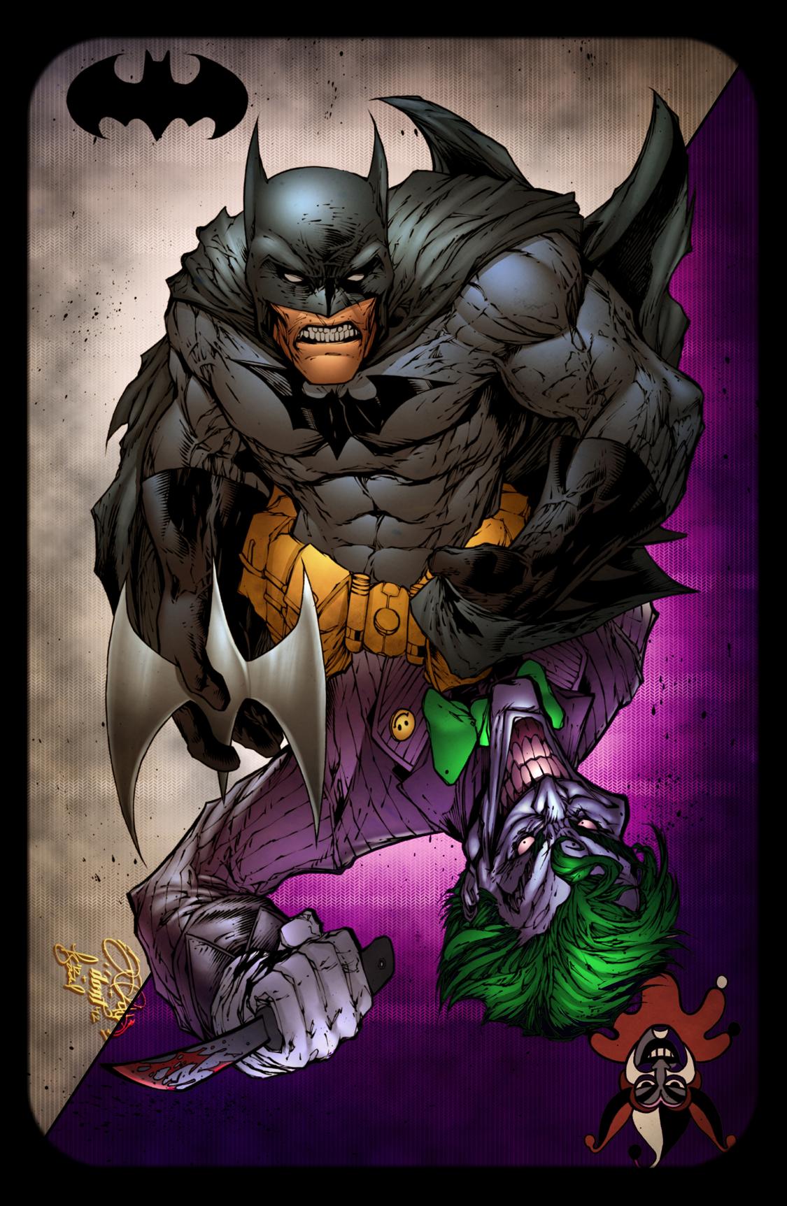 Batman And Joker Card On Storenvy