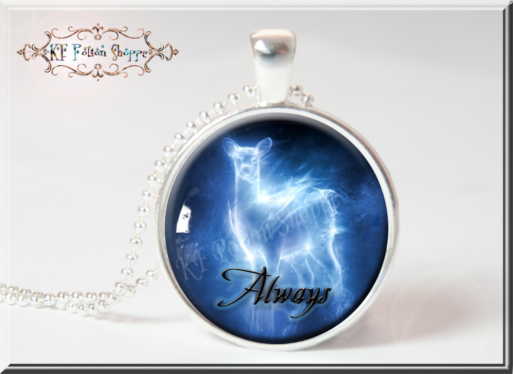 Always Snapes Patronus Harry Potter Inspired Pendant