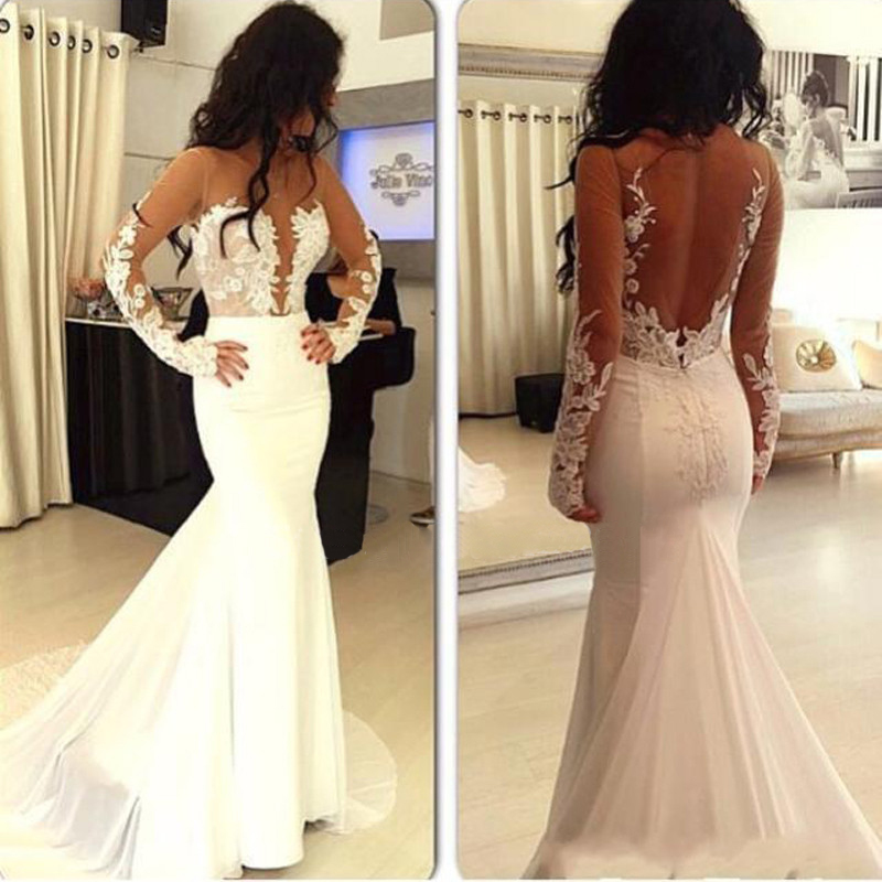 Hot selling prom dress, sexy prom dress, white prom dress, long ...