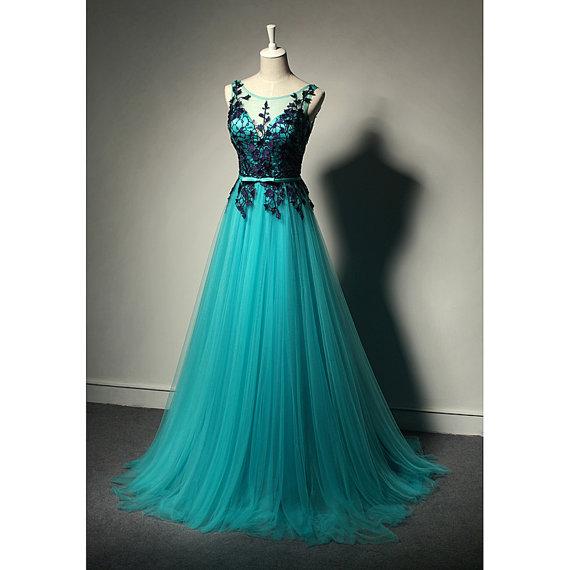 Lace Long Simple Cheap Prom Dressescharming Backless Evening